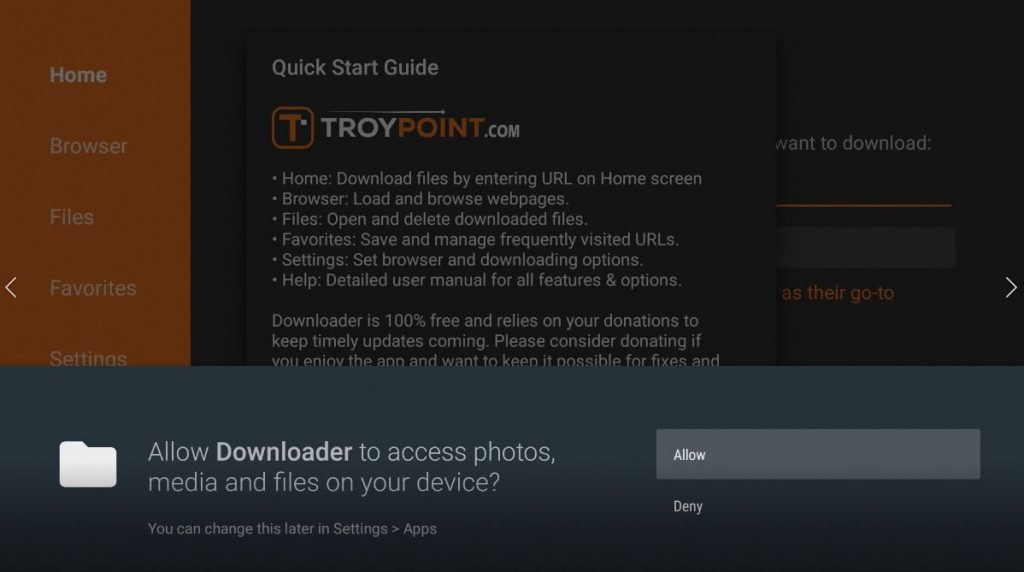 Downloader Permissions