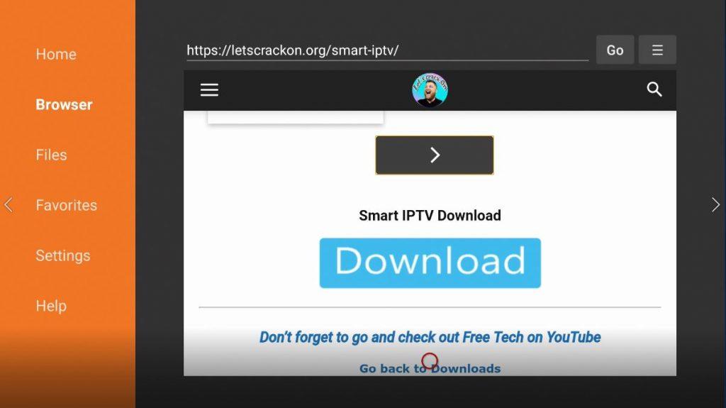 smart iptv download