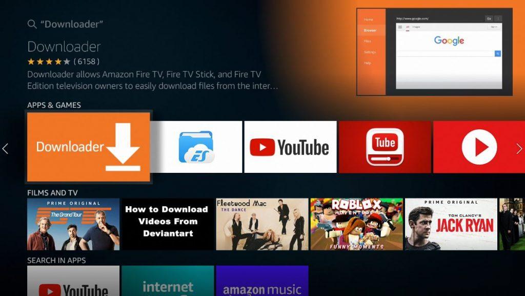 downloader firestick
