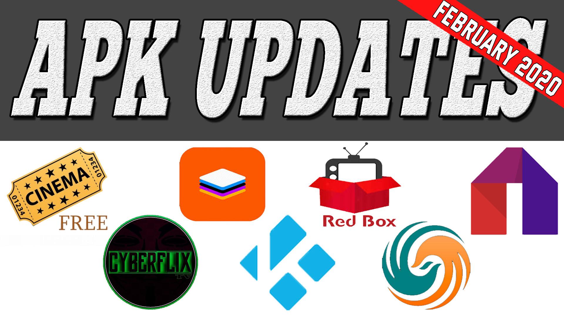 APK Updates February 2020