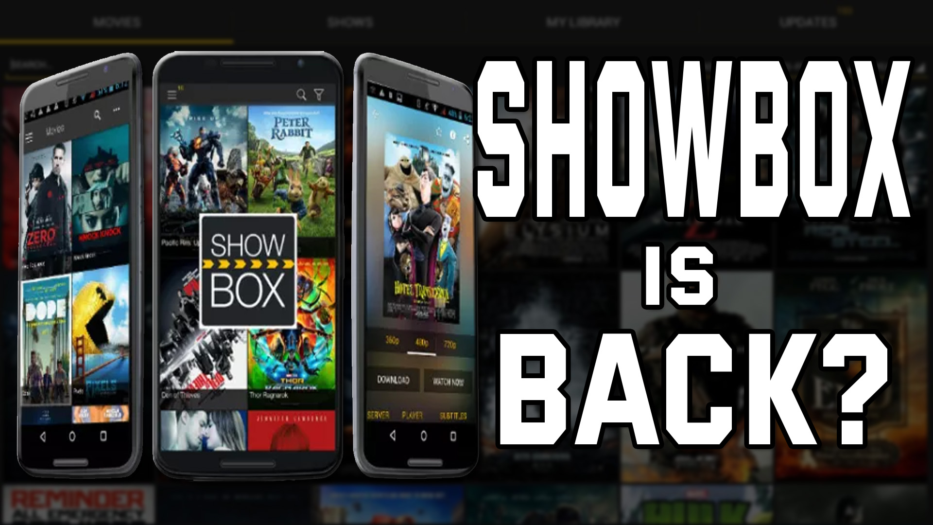 Showbox is back