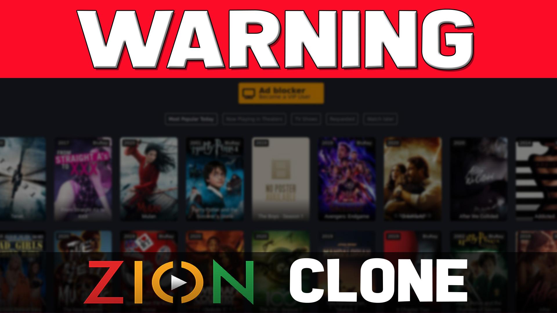 TVZion Clone